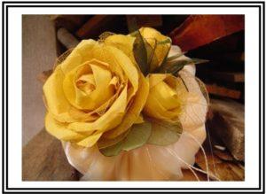 Sachê de Flores. Fonte: Flor do Cerrado - Portfólio
