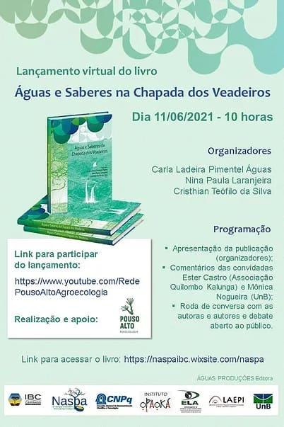 2021_06_08_noticia_lancamento_livro_aguas_e_saberes_chapada_dos_veadeiros